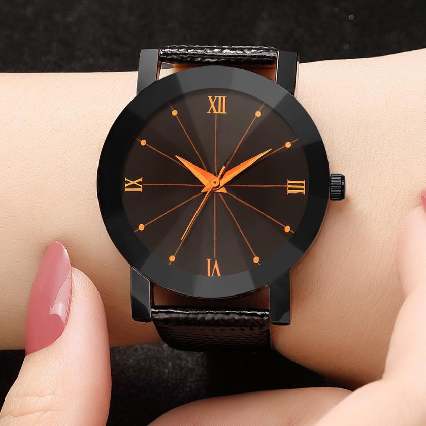 2018 Military Unisex Minimalist Hand Clock Retro Casual Women's Quartz Watch Luxury Analog Gift Beautiful Ladies WristWatch #D