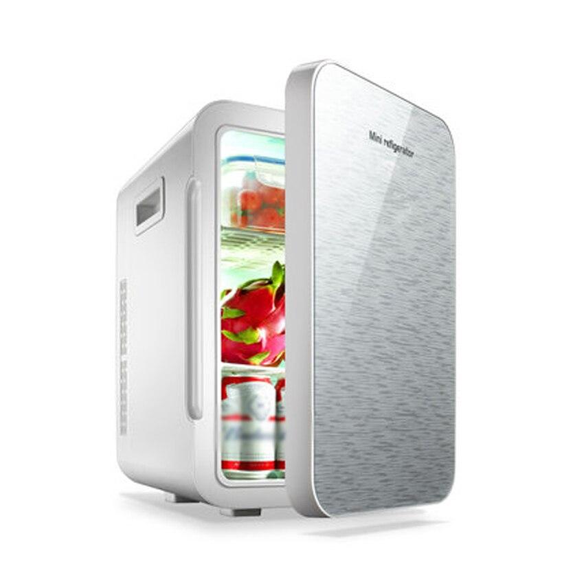 22L Mini Fridge Refrigerator 12V/220V Car Home A Dual Use Compact Car Fridge Temperature Variations F-W25SA Portable Freezer