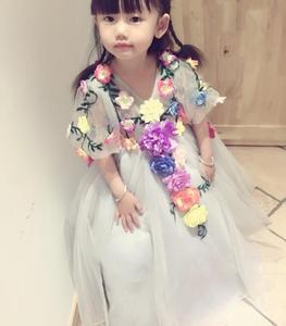 Image 5 - Vestido de princesa para niñas pequeñas, ropa de verano, informal, escolar