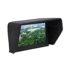 7 pollici FPV Monitor LCD Display Tenda Da Sole Cappuccio per la Foto In Studio