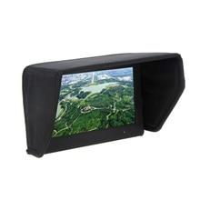 7 zoll FPV LCD Monitor Display Sonnenschutz Haube für Foto Studio kits
