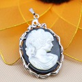 34x51mm Ethnic Chic Prevalent character Abalone seashells sea shells pendant embroider crafts jewelry making design diy Accessor