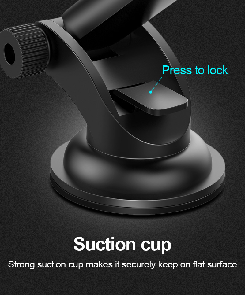 TOMKAS Car Mount Qi Wireless Charger For iPhone X 8 Plus Charger Wireless Charging Pad Car Phone Holder Stand For Samsung S9 S8