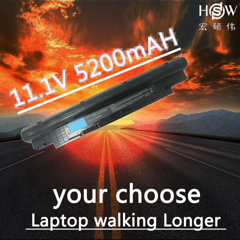 HSW Laptop Battery For DELL Vostro V131 V131R V131D Battery For Inspiron 13Z N311z 14Z N411z H2XW1 H7XW1 268X5 Laptop Battery