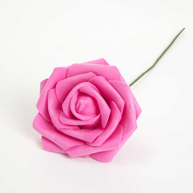 1pcs artificial rose flowers
