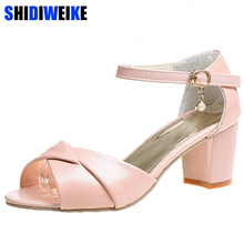 Woman Sandals Shoes 2019 Summer Style Wedges Pumps High Heel