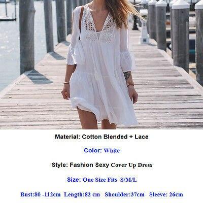 2017 Newest Woman Swimwear Cover Up Beach Dress Tops Bikini Set Cover Up Dress Clothes Women Lace Crochet Bathing Suit Bikini 1