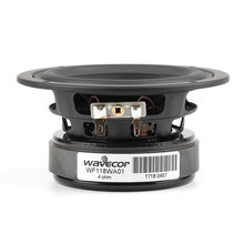 "Wavecor WF118WA01 4.5"" 4.5 inch die cast alu chassis Paper Cone Mid Woofer speaker driver unit 4hom 89db 4-64kHz(China)"