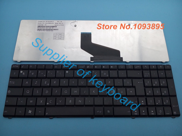 Free Shipping New French Azerty Keyboard For Asus X53be X53br X53by