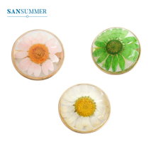 SANSUMMER Female Designer Jewelry Brooch For Women New Transparent Flower Badge Fashion Gifts 866