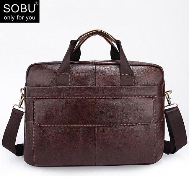 aab0b7728c74f جديد الرجال حقيبة يد مكتب للحقائب الرجال رسول حقيبة جلد طبيعي الرجال الجلود  محمول حقيبة حقائب