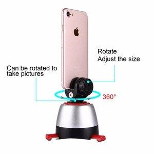 Image 3 - PULUZ elektronik 360 derece dönme panoramik Tripod başkanı döner tava kafa ve uzaktan kumanda GoPro Smartphone DSLR (kırmızı)