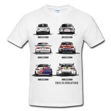 Новинка, модная мужская футболка, Хлопковая мужская футболка с коротким рукавом, M3, мотоцикл, эволюция, E30, E36, E46, E90, 2002, футболка