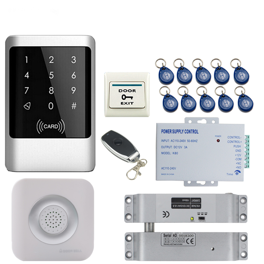 RFID Security Entry Access Control Systems /& Surface Mounted Electric Bolt Lock