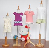 Оптовая продажа; детская одежда манекены тела для одежды стенд, одна часть, может выбрать возраст и базы, стойки, 1-8yearm00377