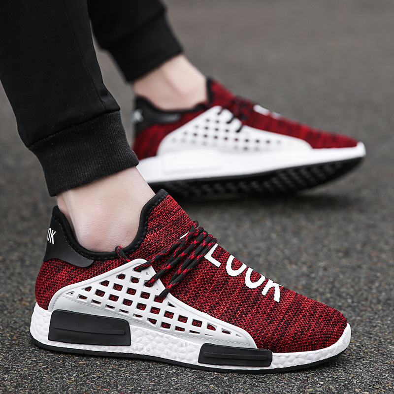 af084ad79 shoes men 2018 new summer mens shoes Casual man Net cloth masculino human  race ultras boosts