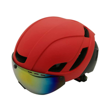 Cycling Helmet Ultralight Road Mountain MTB Bike Bicycle Helmet With Lens Goggles Helmet Bike Casco Ciclismo
