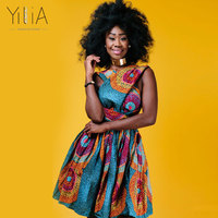 Yilia Many Way Printed Vestido Summer 2018 New Women Dress African Print Clothing Casual Sexy A