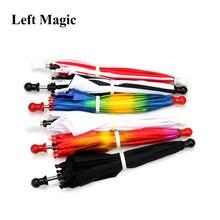 1 шт./мини размер магический зонтик магический трюк(длина 33 см) волшебное устройство шелк до четырех зонтов сценический магический аксессуар G8211