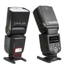 NOVA WS-560 Flash Speedlite flash Da Câmera para NIKON D3100 D5100 D7000 Canon 60D 600D 650DV 70D 5D 1D 5DII 5DIII 50D Olympus