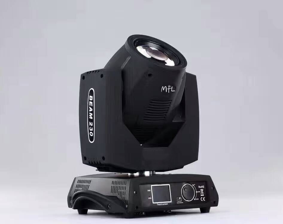 2pcs7R230W with flycase moving head <font><b>beam</b></font> stage dj Christmas Party Disco Bar Club Wedding studio cyclorama iluminacion lighting image