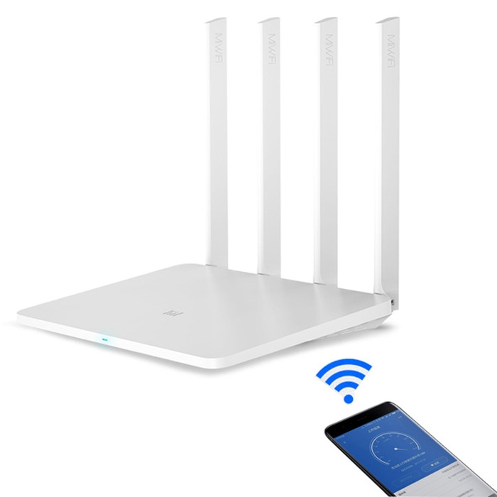 Original Xiaomi 3G Dual-Band WiFi 1167Mbps WiFi Smart Extender Router with 4x External Antennas [английская версия] оригинальный xiaomi mi wifi 3 router eu затыкает смарт 4 антенны 1167mbps dual band