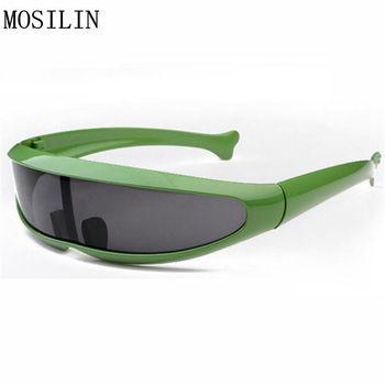 MOSILIN pozaziemskie w zwierzęcym stylu w kształcie ryby okulary przeciwsłoneczne dla dzieci Super fajne okulary dla dzieci kolorowa ramka dla dziewczynek i chłopców tanie i dobre opinie Chłopcy Rectangle Z tworzywa sztucznego Antyrefleksyjną Fotochromowe UV400 38MM 126MM