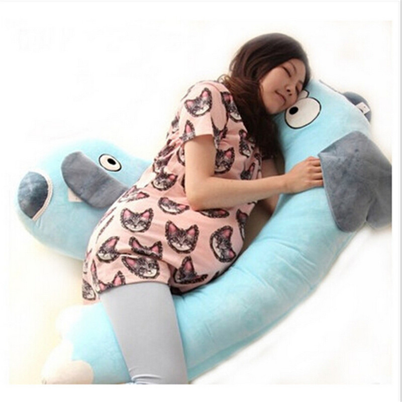 Comfortable cartoon elephant plush body pillow for Sweethome best pillow