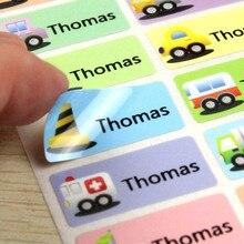 Бесплатная доставка автомобиля название наклейки на нескольких Размеры воды таблички разноцветные ярлыки автомобили теги детские наклейки офисные наклейки
