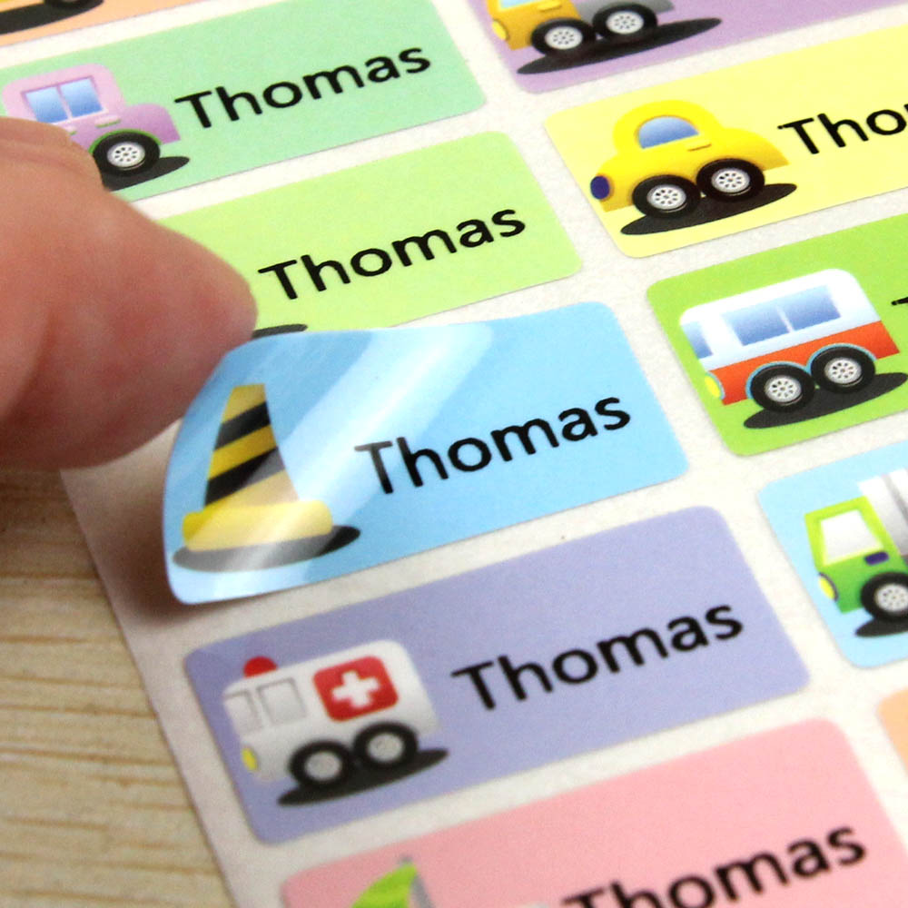 FREE SHIPPING Vehicle Name Stickers Size L&M Water Proof Decals Multicolour Labels Cars Tags Children Stickers Business Labels