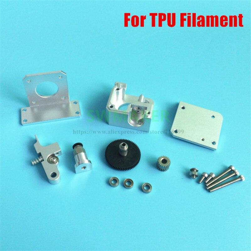 New 3D printer All metal Titan Aero Extruder 1 75mm TPU Filament for Prusa i3 MK2