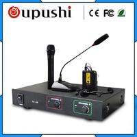oupushi TC 2R mics lapel microphone Digital wireless microphone stage handheld wireless microfone professional microfono mic