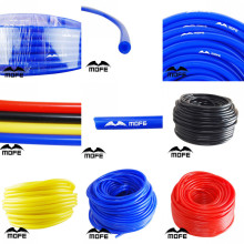 MOFE Universal 1M 3mm/4mm/6mm/8mm Silicone Vacuum Tube Hose Silicon Tubing Blue Black Red Yellow Car Accessories