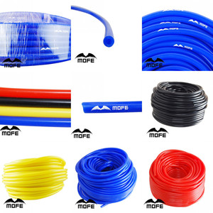 MOFE Universal 1M 3mm/4mm/6mm/8mm Silicone Vacuum Tube Hose Silicon Tubing Blue Black Red Yellow Car Accessories(China)