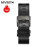 MVMT genuine leather strap fashion simple vintage casual strap 45mmdw strap