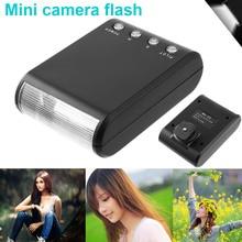 Evrensel uyumlu Mini LED kamera flaş Speedlite harici taşınabilir el feneri 8899