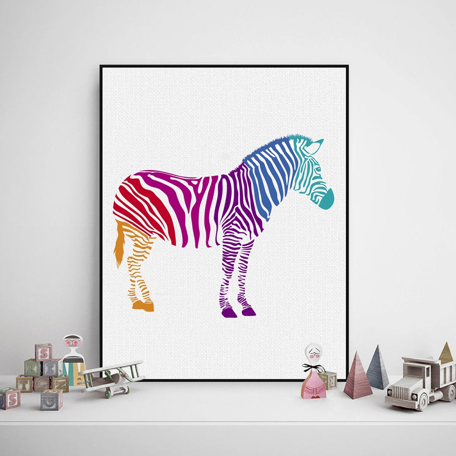 Zebra Wall Decor popular zebra print wall decor-buy cheap zebra print wall decor