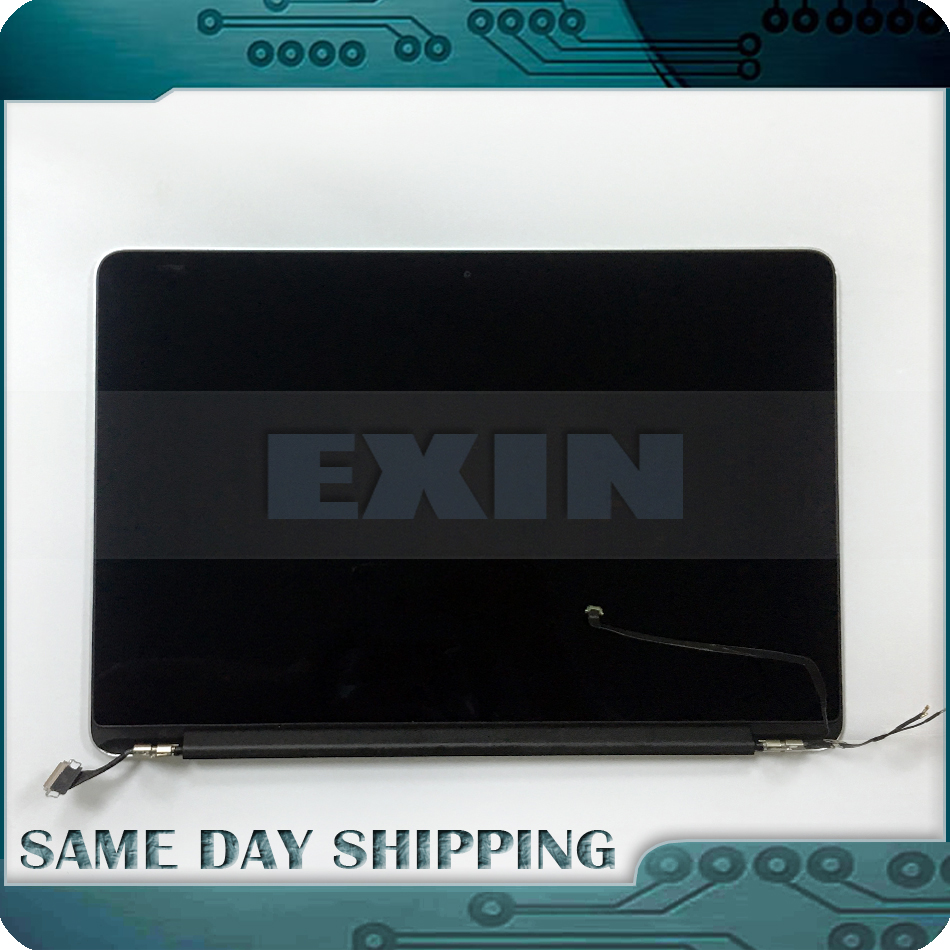 Genuine Early 2015 A1502 LCD Assembly for Apple Macbook Pro Retina 13 A1502 Full Complete Lcd Screen Display Assembly Tested! original new space grey silve laptop a1706 lcd assembly 2016 2017 for macbook pro retina 13 a1706 lcd screen assembly mlh12ll a
