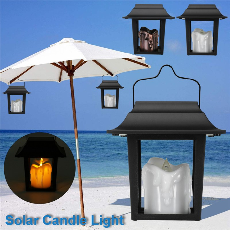 Candid New High Quality Solar Powered Lights For House Outdoor Landscape Garden Fence Lamp 2pc Drop Shipping Lights & Lighting