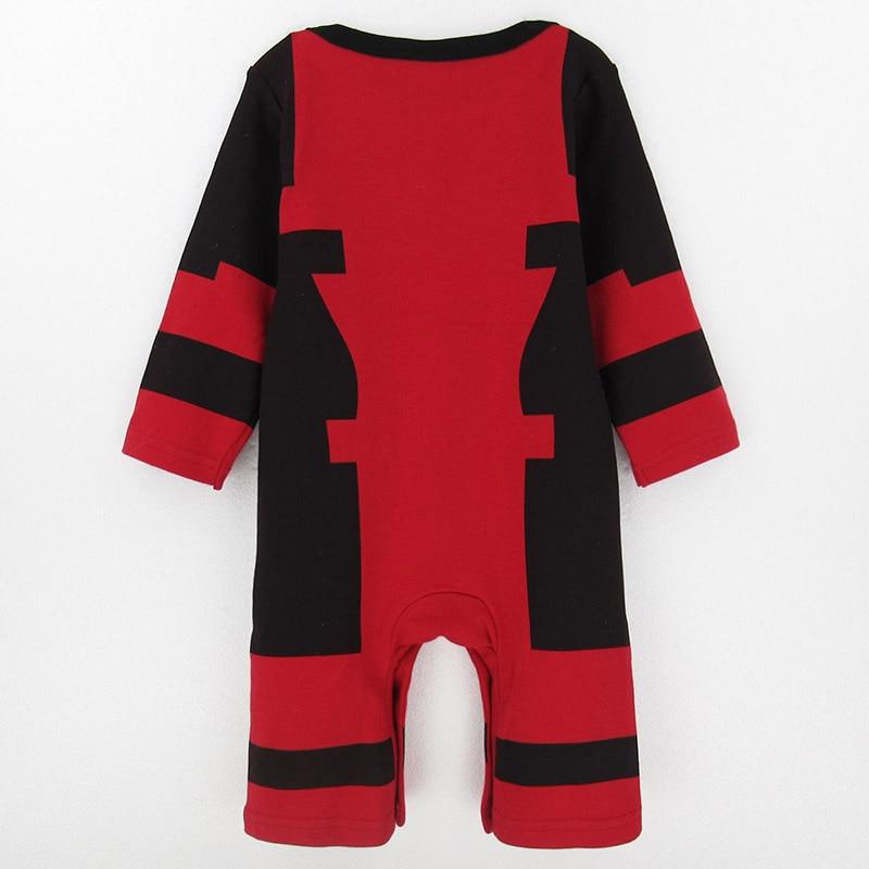 Baby Boy Wolverine Bodysuit Newborn Superhero Costume Playsuit Jumpsuit Outfit