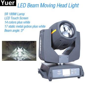 Nieuwe LED 5R 200 W Beam Moving Head DMX512 Touch Screen Control DJ Disco Party Lichten Kleur Muziek Beam Moving hoofd Podium Verlichting