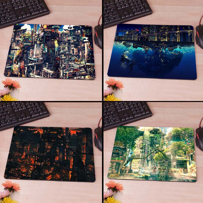 Anime Scenery Custom Mouse Mat Soft Rubber DIY Game Personalized Mice Pad
