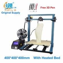 Crealit CR-10 S4 grande impression taille DIY de bureau 3D imprimante 400*400*400mm taille d'impression multi-type filament avec chauffée lit