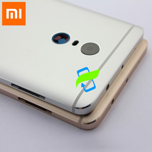 Image 4 - Original Battery Back Cover For Xiaomi Redmi Note4 Back Housing Rear Door Case For Redmi Note 4 Power Volume Buttons+Camera Lens
