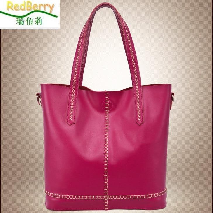ФОТО New Arrival 100%Genuine Leather Bag Fashion Women Handbag Casual Tote Design Medium Messenger bag Top-Handle Bag High Quality