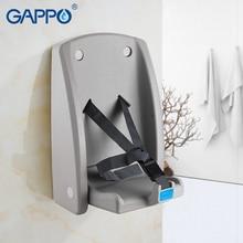 GAPPO детские сиденья для туалета djustable тренировочный стульчак Ванная комната Складное Сиденье лесенка для туалета настенный сиденье для душа