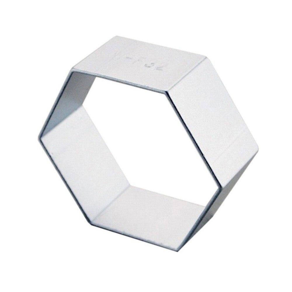 Livraison Gratuite Hexagone Emporte Piece Outil De Cuisine Fondant