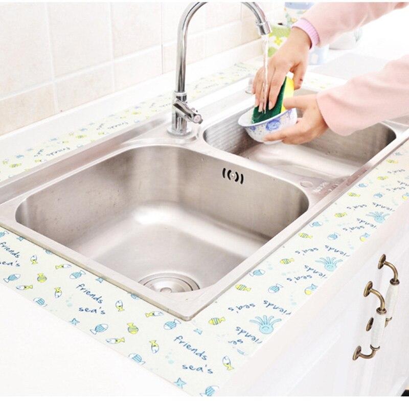 2Pcs PE Bathtub Counter Caulk Strip Seal for Bath Tub Kitchen Shower Toilet Wall Sealant Tape Bathtub Waterproof Sticker