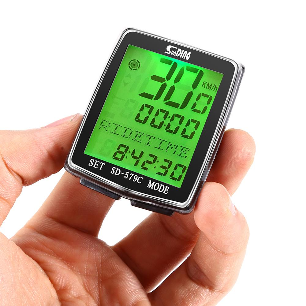 <font><b>Bike</b></font> Computer LED Bicycle Speedometer fietscomputer Wireless <font><b>Bike</b></font> Computer bicycle <font><b>power</b></font> <font><b>meter</b></font> Cycling compteur velo sans fil image