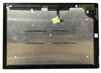 Linninfiledจอแอลซีดีที่สมบูรณ์แบบสำหรับMicrosoft Surface Pro 3 (1631)จอแสดงผลlcd touch screen digitizerแก้วสมัชชาแผ